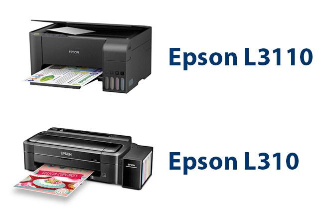 Epson L3110 vs Epson L310
