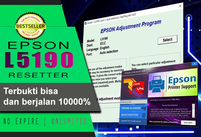 Download Epson L5190 Resetter Gratis
