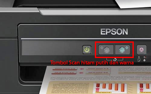 Tutorial Cara Scan Printer Epson L Series