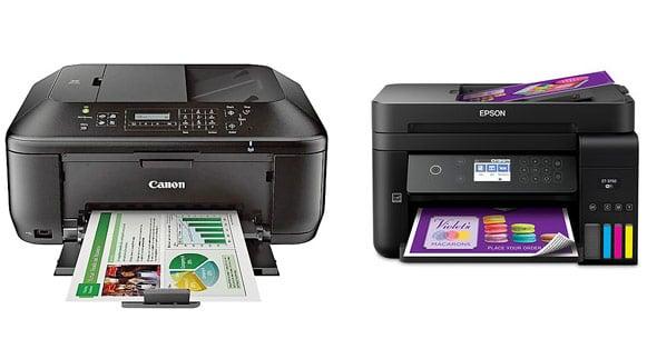 Memilih Printer Canon atau Epson, bagusan mana?