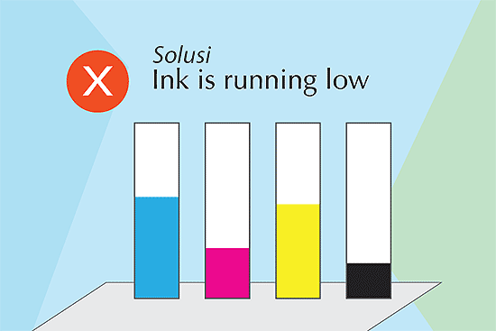 Printer Ink is Running